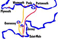 les ferries au depart de saint malo vers les iles anglo normandes et l 39 angleterre. Black Bedroom Furniture Sets. Home Design Ideas