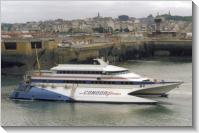 Saint-Malo (2000) Condor 9 in the outer port