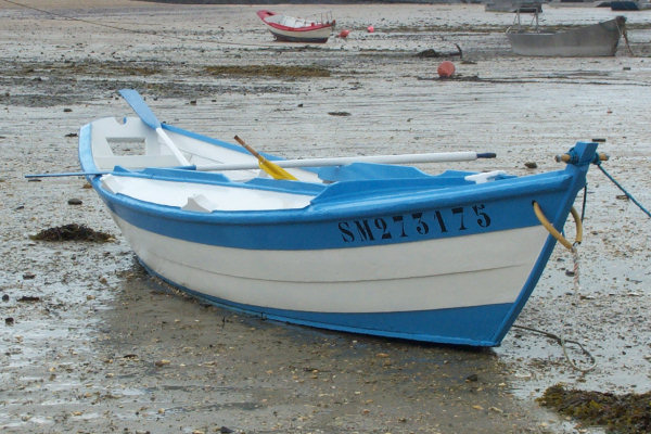Dories in the region of Saint-Malo